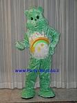 בובת ענק של דובי ירוק