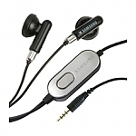 אוזניות Hands-Free Stereo Headset ל- Samsung בצבע שחור.