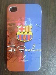 כיסוי אייפון 4 קבוצות כדור רגל ברצלונה