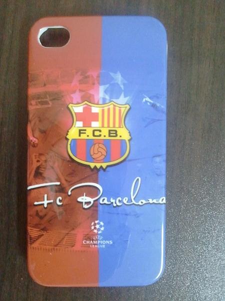 כיסוי אייפון 4 קבוצות כדור רגל ברצלונה - 1