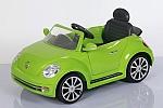 מכונית ממונעת לילדים בדוגמת החיפושית החדשה