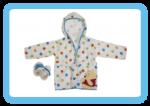 חלוק מגבת + נעליים לתינוק פו הדוב