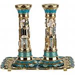 פמוטים מעוצבים , פמוטים מהודרים , פמוט זהב , פמוט ירושלים , פמוט ,