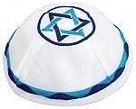 כיפה מגן דוד גווני כחול
