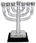 מנורה , מנורת ירושלים , מנורה מעוצבת , מנורות שבע קנים , מנורת המקדש ,