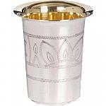 גביע קידוש הרבי מלובביץ , כוס קידוש של הרבי מלובביץ , כוס קידוש של הרבי , גביע כסף טהור , רכישת כוס קידוש כסף טהור,