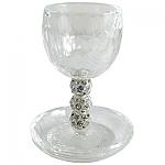 גביע קידוש , כוס קידוש קריסטל , Kiddush cups , גביע לקידוש ,