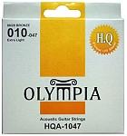 מיתרים לאקוסטית HQA 1047 0.10