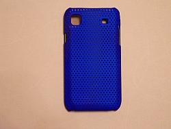 מגן חיצוני לגלקסי i9000 צבע כחול (פלסטיק)