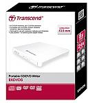 Transcend Slim Portable DVD±RW x8 USB 2.0 White TS8XDVDS-W