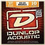 סט מיתרים 0.10 לגיטרה אקוסטית DUNLOP DAB1048