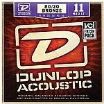 סט מיתרים 0.11 לגיטרה אקוסטית DUNLOP DAB1152