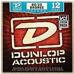 סט מיתרים 0.12 לגיטרה אקוסטית DUNLOP DAB1254
