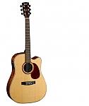גיטרה אקוסטית מוגברת CORT MR710QB BUBINGA