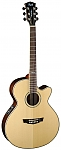 גיטרה אקוסטית פיק אפ פשמן CORT SFX6R-NAT CUTWAY