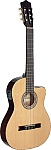 גיטרה קלאסית מוגברת STAGG C546TCE-N