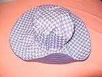 כובע לנשים דגם קרן סגול