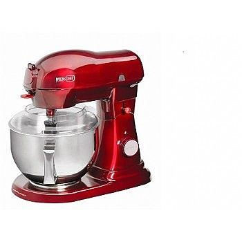 מיקסר- Mix Chef אדום מטלי 48970 MORPHY RICHARDS - 1