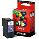 ראש דיו צבעוני Lexmark 15 18C2110E