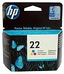 ראש דיו צבעוני HP 22 C9352AE