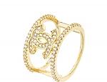 טבעת שאנל גולדפילד 18 קראט