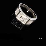טבעת כסף 925 ריבועים משובצת לגבר