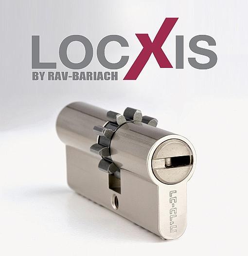צילינדר LOCXIS רב בריח עם כרטיס שיכפול - 1