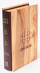 Olivewood cover Bible