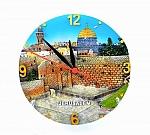שעון צלחת ירושלים