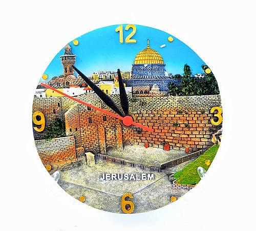 שעון צלחת ירושלים - 1