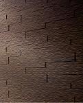 חיפוי קיר - קש שחור חום 4051