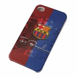 כיוסי קשיח לאייפון 4 עם הסמל של ברצלונה