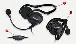 אוזניות מיקרוסופט LifeChat LX-2000