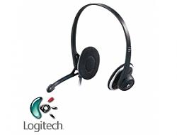 אוזניות + מיקרופון Logitech USB Headset H330