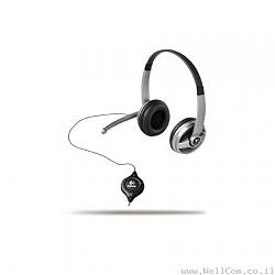 אוזניות ומיקרופונים  Logitech ClearChat Premium PC Headset