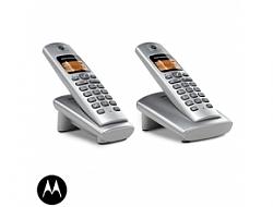 טלפון אלחוטי + שלוחה נוספת דגם  Motorola D402 מוטורולה