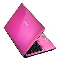 מחשב נייד 15.6 ASUS דגם K53E (I3 2330) PINK WIDI - 1