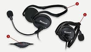 אוזניות מיקרוסופט LifeChat LX-2000 - 1