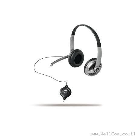 אוזניות ומיקרופונים  Logitech ClearChat Premium PC Headset - 1