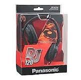 אוזניות קשת מקצועיות Panasonic RPDJ120 - 1