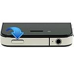 כפתור הדלקה אייפון 4