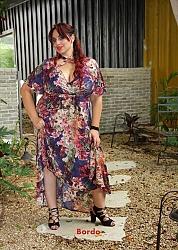 שמלת מקסי פלור
