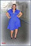 שמלת מרלין עם שרוול