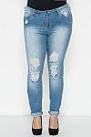 ג'ינס קרעים לירי