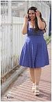 שמלת נקודות מרלין