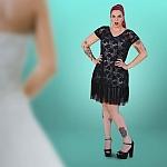 שמלת תחרה וולן