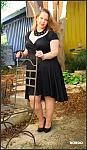 שמלת פעמון מעטפת