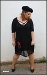 שמלת ורד