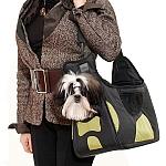 PetEgo - מנשא Boby Bag עם מסגרת תמיכה - שחור / ירוק