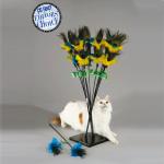 Vee Toys - טיזר לחתולים PeacockFeather
